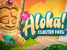 Играть бесплатно в демо-версию аппарата Aloha Cluster Pays